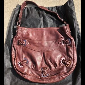 B.MAKOWSKY 100% Leather Tote EUC